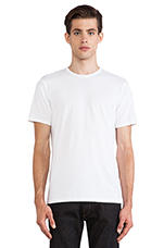 Perfect Jersey Tee in White