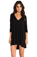 Kevin Tunic Dress in Black