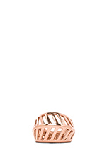 Grill Ring in Rose Gold