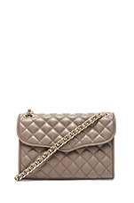 Quilted Mini Affair in Taupe
