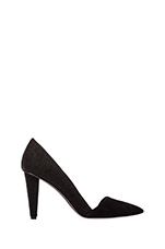 Abel Stingray Print Heel in Black