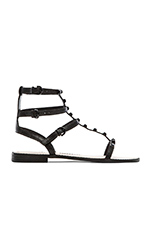 Georgina Sandal in Black