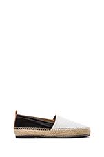 Zella Loafer in Black & White