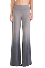 Wide Pant in Seal Ombre Wash