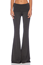 Ashby Flare Pant in Charcoal