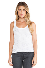 Low Back Tank in Pewter