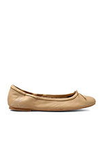 Felicia Ballet Flat in Classic Nude