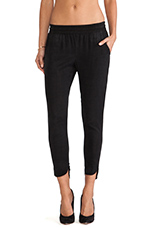 Luciana Pant in Black