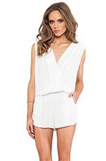 Julia Romper in White
