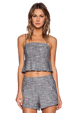Daisi Tank in Heather Chambray