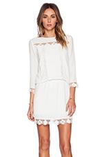 Leora Dress in White