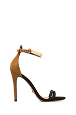 Celina Heel in Black/Brown