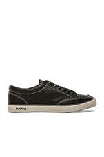 05/65 Westwood Tennis Shoe in Noir Vintage Leather