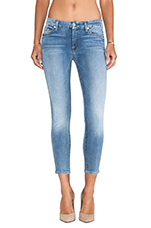 The Cropped Skinny in Super Sanded Blue
