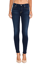 Mid Rise Ankle Skinny in Slim Illusion Luxe Night Blue