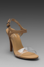 Saffron Heel in Tan