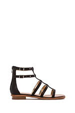 Aim High Sandal in Black