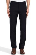 Slim Fit Suit Pant in Navy Wool