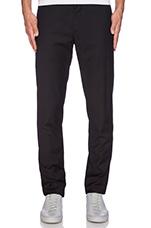 Slim Fit Suit Pant in Black