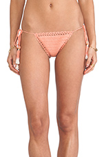 Brazilian Bikini Bottom in Peach