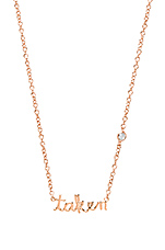 Taken Necklace in Rosegold