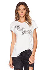 Dream On Tee in White