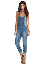 Sasha Slouchy Skinny Overalls in Cruising Around