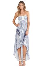 Jda Asymmetrical Dress in Blue