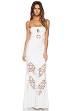 Neena Maxi Dress in White