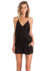 Marmalade Crossover Jumpsuit in Black
