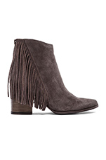Countryy Bootie in Taupe Suede
