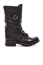 Bounti Boot in Black Leather