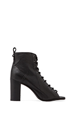 Scandlus Boot in Black Leather