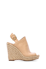 Corizon Wedge in Natural Leather