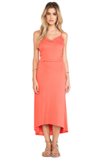 Emy Maxi Dress in Sandy Coral