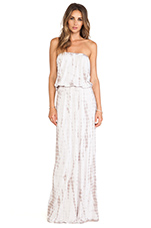 Groovey Maxi Dress in Antique Wash & Ash Grey