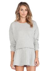 Phoenix Sweater in Heather Grey