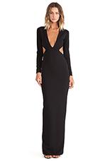 Velasco Maxi Dress in Black