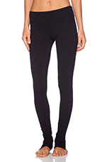 Foothole Legging in Black