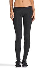 Basics Long Leggings in Heather Charcoal