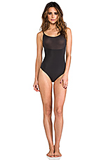 Trust Your Thin-stincts Thong Bodysuit in Black