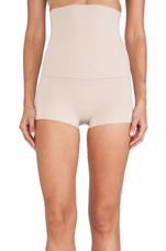 Haute Contour High-Waisted Shorty in Light Nude