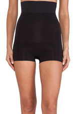 Haute Contour High-Waisted Shorty in Black