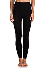 Look-at-Me Cotton Legging in Black