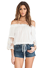 Prarie Top in White