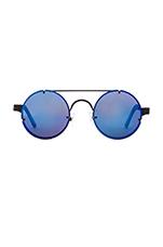Lennon 2 in Black & Blue Mirror