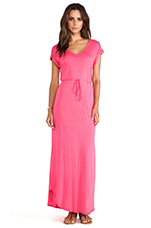 Maxi Dress in Flamingo
