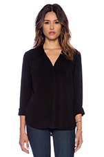 Long Sleeve Top in Black