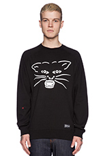 Move On Over Crewneck in Black