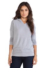 Sweatshirt in Silver